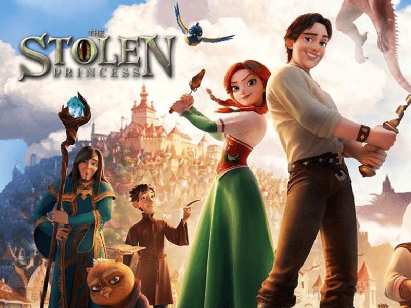 The Stolen Princess Poster