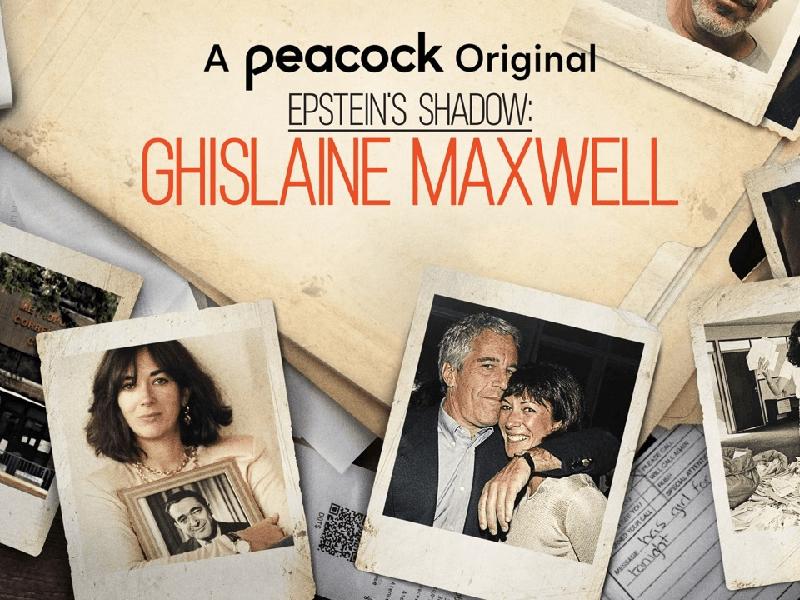 Epstein's Shadow: Ghislaine Maxwell Poster